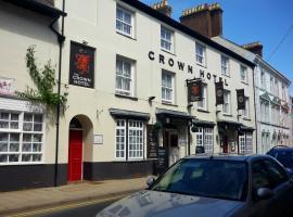 Crown Hotel, hotel near Portmeirion, Pwllheli