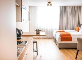 bodenseezeit Apartmenthotel Garni, Hotel in der Nähe von: Golfclub Lindau-Bad Schachen, Lindau