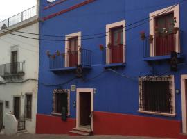 El Zopilote Mojado, отель в городе Гуанахуато