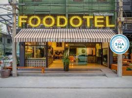 FOODOTEL, hotel v destinaci Bangkok