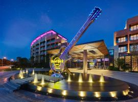 Hard Rock Hotel Dalian, hotel in Dalian