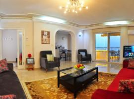 Cebeci Apartments - Extrahome, пляжный отель в Махмутларе