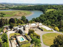 Pentillie Castle and Estate, country house in Saltash