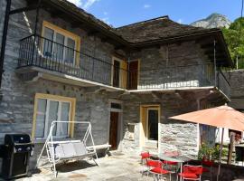 Rustico Luchessa Valle Verzasca, Hotel in der Nähe von: Römerbrücke Lavertezzo, Lavertezzo