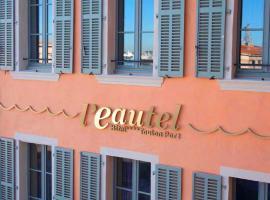 L'Eautel Toulon Centre Port, hotel near ISEN Toulon Engineering School, Toulon