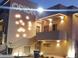 Orion Eco Suites, hotel in Karteros