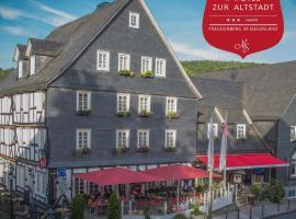 Hotel zur Altstadt, Hotel in der Nähe von: Siegerlandhalle, Freudenberg