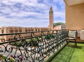 Sablettes 14 - Luxury and Exclusive view - 2 bedrooms, hotel near Casablanca Marina, Casablanca