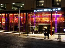 Clarion Hotel Sense, hotell i Luleå