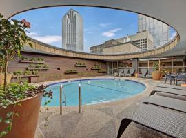 Downtown Dallas Luxury Suites by Barsala, serviced apartment in Dallas