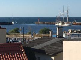 Widok na morze – kwatera prywatna w mieście Darłowo