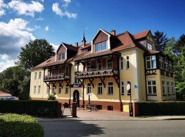 Willa Diament, hotel in Kudowa-Zdrój