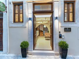 Erotokritos City Luxury Suites, appartamento a Rethymno