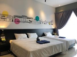 Pinstay Bayan Suites @ Aeropod Kota Kinabalu, apartment in Kota Kinabalu