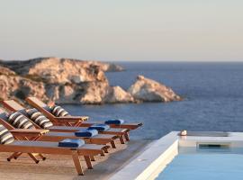 Villa Imperial Milos, hotel near Sarakiniko Beach, Mandrakia