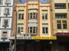 Central Private Hotel, hotel en Sídney
