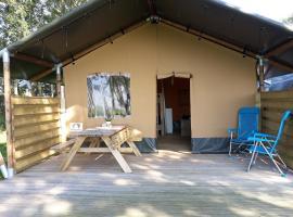 Logeerderij Groote Medwerd, luxury tent in Holwerd