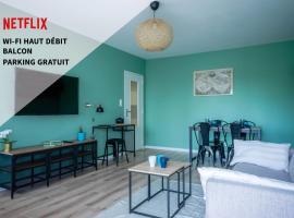 Le Colibri - Appartement T2 de 47 m2 à Metz - jusqu'à 4 personnes, appartement à Metz