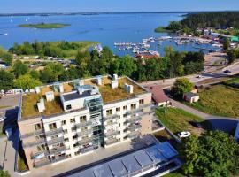Nowy 2020 Apartament Sziwa 51 m2 NAD JEZIOREM plus 45 m2 TARASU, apartment in Wilkasy