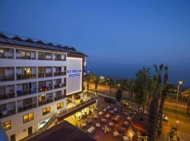 Eftalia Aytur Hotel, отель в городе Аланья, рядом находится Alanya Milli Egemenlik Stadium