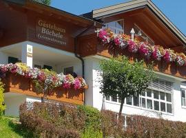 Gästehaus Büchele, country house in Hirschegg