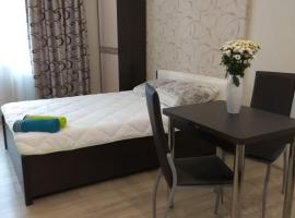 Уютная квартира-студия рядом с метро Новокосино, hotel in Reutov
