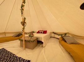 Honey Pod Farm Bell Tents, luxury tent in Upton upon Severn