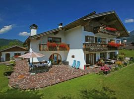 Gästehaus Bavaria, guest house in Krün