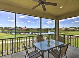 Verandah Club Resort Retreat with Pool Access!, villa in Fort Myers