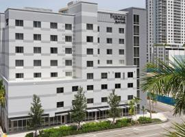 Fairfield Inn & Suites By Marriott Fort Lauderdale Downtown/Las Olas, hotel near Las Olas Boulevard, Fort Lauderdale