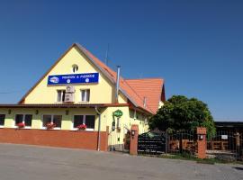 Penzion Kometa, hotel v destinácii Pasohlávky