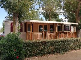 Mobil home La Mer, campground in Vias