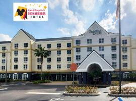 Fairfield Inn & Suites by Marriott Orlando Lake Buena Vista, hotel in Orlando