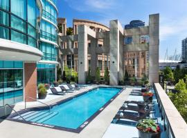 Hilton Vancouver Downtown, BC, Canada, hotel near Olympic Village Skytrain Station, Vancouver