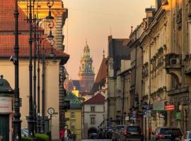 Serce Starego Miasta, hotel conveniente a Cracovia