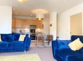 FREE PARKING with BALCONY - City Royale Apartment - 4 single beds or 2 doubles, apartment in Southampton