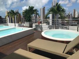Gold Flat perto do Manaira Shopping,Restaurante,Garagem,Wi-fi, hotel with pools in João Pessoa