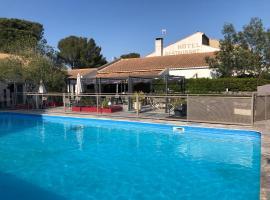 Les Aubuns Country Hotel, hotel near Nimes-Ales-Camargue-Cevennes Airport - FNI,