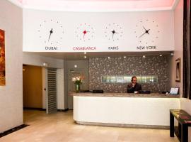 Hôtel Les Saisons, hotell i Casablanca