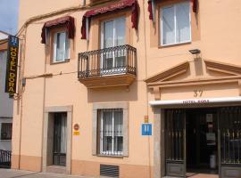 Hotel Dora, hotel in Plasencia
