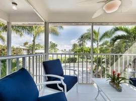 New To The Market, Fresh Florida Coastal, Designer, Renovation, Steps to the Beach, Awaits You!, vacation rental in Fort Myers Beach