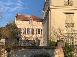 Le studio du botaniste, hotel in Giverny