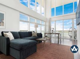 2-Story Waterfront Condo #10 (10th Floor) I Sextant, villa in Miami Beach