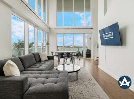2-Story Waterfront Condo #01 (4th floor), villa in Miami Beach