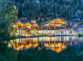 Au Club Alpin, hotel in Champex