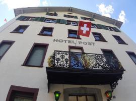 Hotel Post Cunter, hotel in Savognin