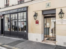 Courcelles Médéric, hotel near Malesherbes Metro Station, Paris