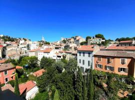 Chambre avec vue Notre Dame de la Garde, B&B in Marseille