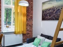 Trzypokojowy apartament KATOWICE Damrota 4 – hostel w mieście Katowice