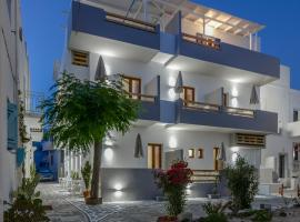 Panormos Hotel and Studios, hotel near Archaeological Museum of Naxos, Naxos Chora